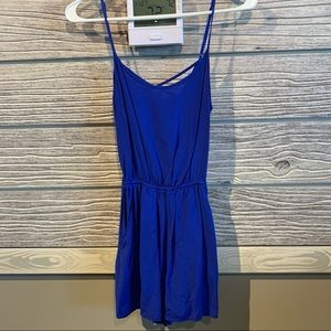 H&M Royal blue romper size xs